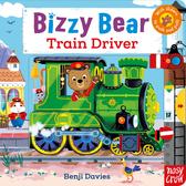 Bizzy Bear:Train Driver 熊熊開火車新奇操作書(英國版)