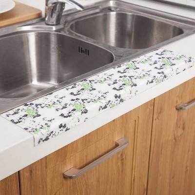 【廚房自黏水槽防水貼片1入 LA150】NO135洗臉盆防水貼【八八八】e網購