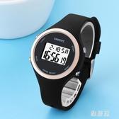 兒童手錶男孩女孩學生電子錶 LED女童運動防水夜光錶 果凍手錶女 ZJ1408 【雅居屋】