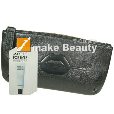MAKE UP FOR EVER 第一步奇肌對策-清爽保濕#3(1ml*5)+復古手拿包(20*11cm)《jmake Beauty 就愛水》