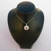 【歡喜心珠寶】【天然剛玉紅寶石約1.6克拉加銀k金晶鑽墜台】天然尚比亞紅寶石墜子「附保証書」