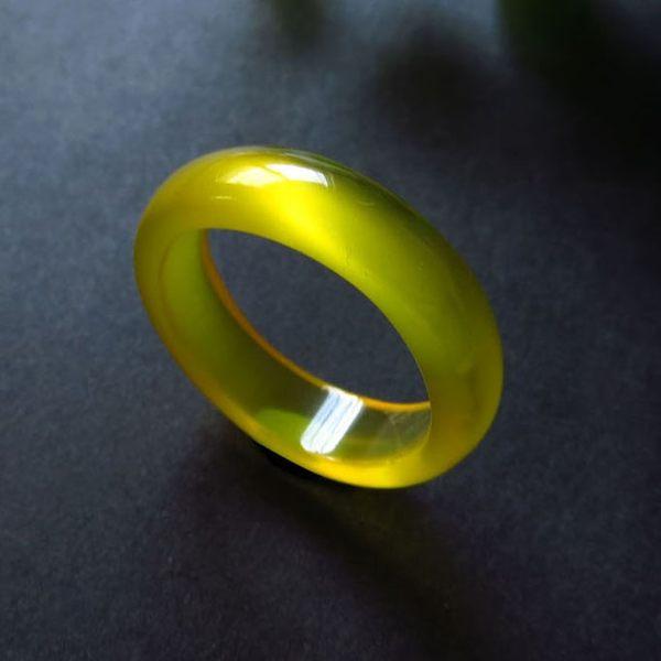 純天然瑪瑙戒指紅玉髓戒子 水晶白黃黑綠瑪瑙 男女情侶款賭神指環