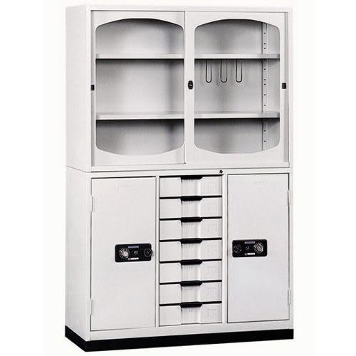 【時尚屋】K413圓框A級4x6密碼鎖鐵櫃Y116-1免運費/台灣製/免組裝