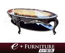『 e+傢俱 』ET7 威爾利 Willy 新古典 高質感桌面木紋設計 古典雕花 歐式家具 | 大茶几 | 茶几 可訂製