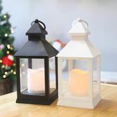聖誕節裝飾品創意桌面燭台擺件小禮品餐廳糕點房平安夜送女生禮物 露露日記