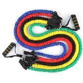 拉力器 三頭肌拉力繩健身男女彈力繩力量訓練拉力器瑜伽帶多功能加粗 二度3C 99免運