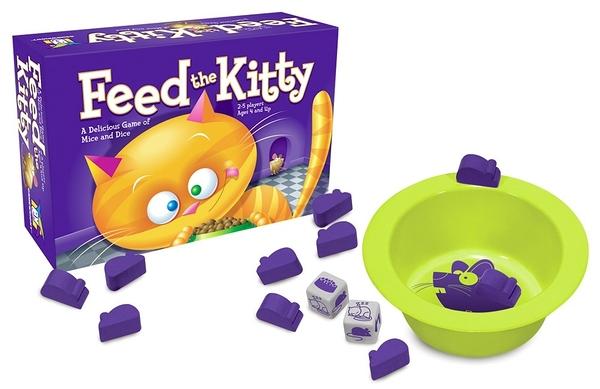 [楷樂國際] 餵貓咪 Feed the Kitty #Gamewright 桌遊 兒童 益智遊戲