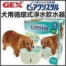 *WANG*GEX視窗型-犬用循環式淨水飲水器1.5L