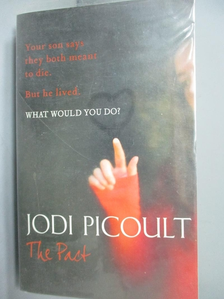 【書寶二手書T5/原文小說_LIX】The Pact_Jodi Picoult