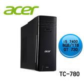 acer 宏碁 TC-780 (CPU i5 7400/8G RAM/1 TB HDD/GT 730 2G/WINDOWS 10)