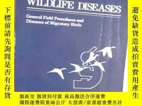 二手書博民逛書店Fidle罕見Guide to WILDLIFE DISEASE