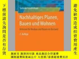 二手書博民逛書店Nachhaltiges罕見Planen, Bauen Und WohnenY405706 Stefanie