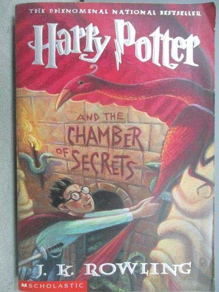 【書寶二手書T8/原文小說_MOC】Harry Potter and the Chamber of Secrets