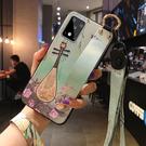 三星 Note10 S10 Lite 手機殼 中國風 復古 腕帶支架保護套全包防摔浮雕軟殼 創意潮外殼 保護殼