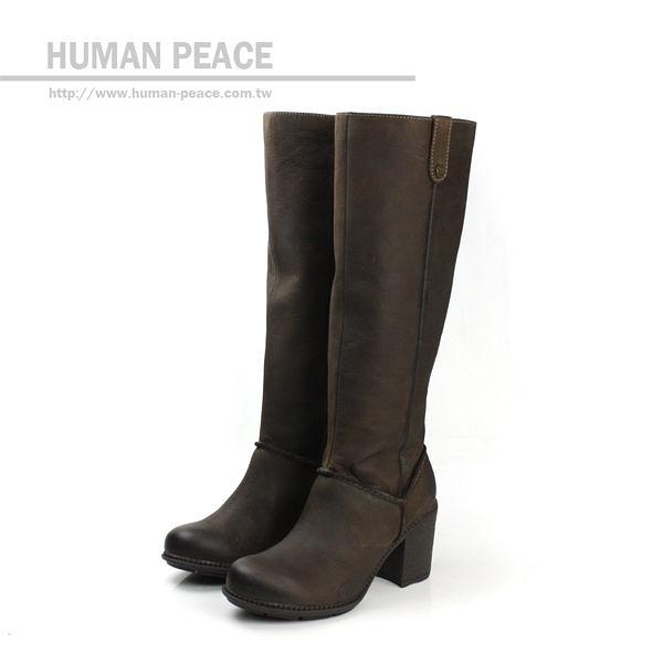 [不可超取] Clarks Merrigan Akita 皮革 柔軟 舒適 長靴 戶外休閒鞋 咖啡色 女鞋 no649