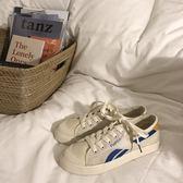 女夏季新品帆布鞋百搭學生網布透氣板鞋【萬聖節八五折搶購】