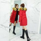棉襖女士新款韓版冬季棉衣中長款寬鬆bf爆款大碼加厚棉服外套  时尚教主