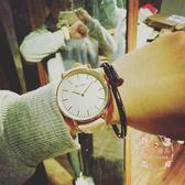 手錶  復古簡約大錶盤石英錶