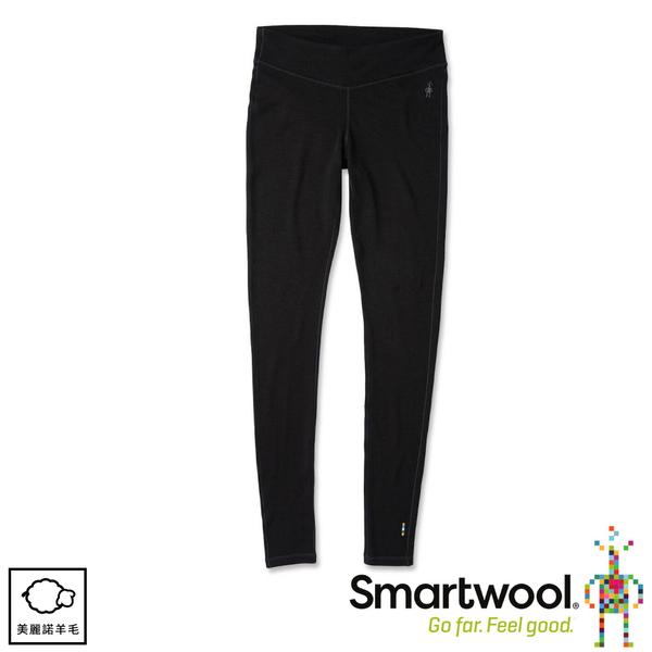 【SmartWool 美國 女NTS 250緊身長褲《黑色》】SW018809/內搭褲/衛生褲/緊身褲
