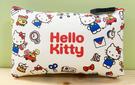 【震撼精品百貨】Hello Kitty 凱蒂貓~Hello Kitty日本SANRIO三麗鷗KITTY化妝包/筆袋-矽膠紅*78159