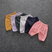 超低折扣NG商品~嬰幼兒短褲 透氣燈籠褲 防蚊棉紗褲 SK096 好娃娃