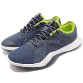 adidas 訓練鞋 CrazyTrain LT M 藍 黃 低筒 緩震 健身專用 男鞋 運動鞋【PUMP306】 CG3492