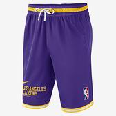 NIKE Los Angeles Lakers Courtside DNA 男裝 球褲 籃球 針織 排汗 抽繩 紫【運動世界】DB1802-504