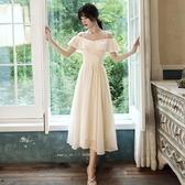 伴娘服香檳色2020年新款夏伴娘團禮服女姐妹裙仙氣質平時可穿顯瘦-米蘭街頭