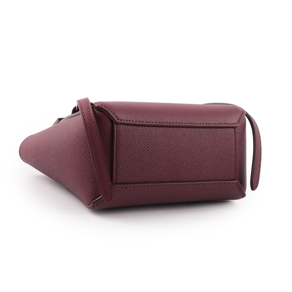 【CELINE】PICO BELT 迷你型手提/斜背二用包(莓果色) 194263ZVA.33AC