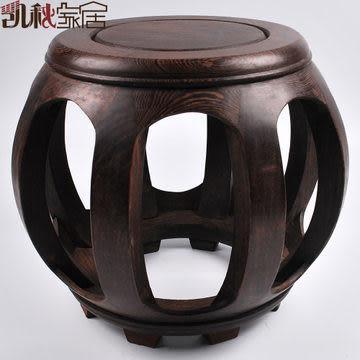 【小】中式古典家具多用途實木圓凳