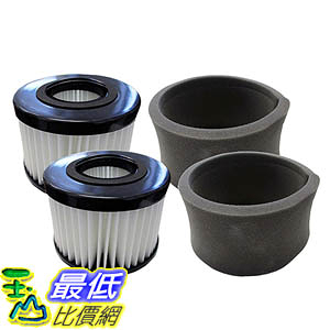 [106美國直購] 2 Style DCF-20 Filters for Eureka Envirovac Model Vacuums; Compare to Eureka Part Nos. 3041