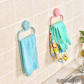 廁所掛毛巾架創意免打孔手巾架 易樂購生活館