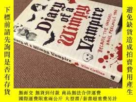 二手書博民逛書店Diary罕見of a Wimpy Vampire   吸血鬼日