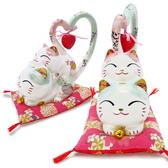 【金石工坊】心心相印長尾情侶貓-中(高26CM) 婚禮小物 結婚禮物 撲滿 存錢筒