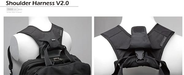 創意坦克 ThinkTank SH582 Shoulder Harness V2.0 雙肩背帶 公司貨 【聖影數位】
