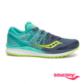 SAUCONY FREEDOM ISO 2 專業訓練女鞋-深灰x藍綠