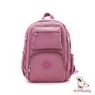 B.S.D.S冰山袋鼠 - 時光旅人 - 知性大容量附插袋後背包 - 莓果粉【B060-2PP】