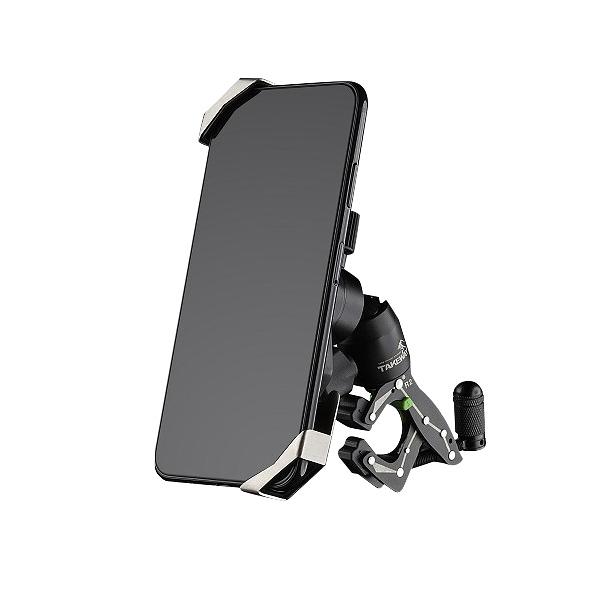 TAKEWAY ( R2 鉗式運動夾 ) + ( T-PH05 黑隼Z手機座組 ) 4.7~6.5吋手機可夾【R2TPH05】公司貨