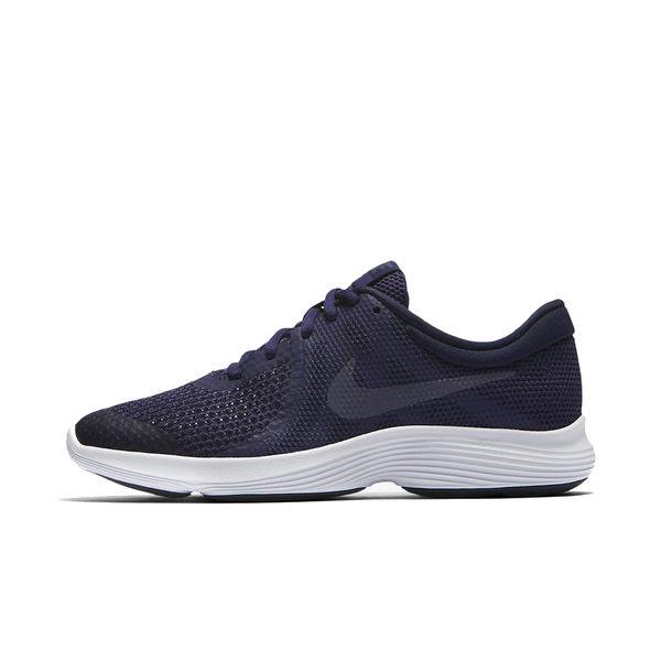 Nike Revolution 4 GS 深藍 白 女鞋 大童鞋 慢跑鞋 休閒運動鞋 路跑鞋 943309501