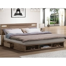 床架 BT-11-10A 亞力士6尺夜燈雙人床 (床頭+床底)(不含床墊) 【大眾家居舘】