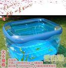 嬰兒遊泳池充氣超大號豪華套餐【藍星居家】