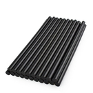 【2230D】熱溶膠條-高粘黑棒 11x270mm 黑色熱熔膠棒 熱熔槍膠棒 手工熱融膠水條 粗膠 EZGO商城