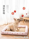寵物窩 狗窩夏天涼窩四季通用泰迪涼席窩狗狗墊子貓窩夏季小型犬寵物用品 晶彩 99免運LX