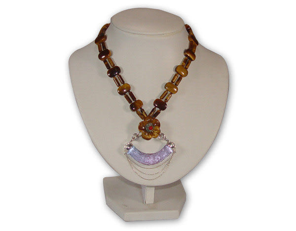 鹿港窯~居家開運 琉璃珠寶項鍊~ 纏綿◆附精美包裝‧免運費送到家