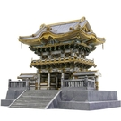 【發現.好貨】日本栃木縣日光東照宮模型 日光東照宮3D紙模型 手工DIY紙模型 日本世界遺產