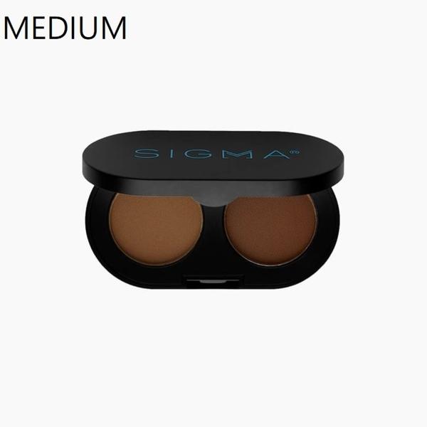 Sigma COLOR + SHAPE BROW POWDER DUO 雙色眉粉 美國官方授權經銷商 色號:MEDIUM