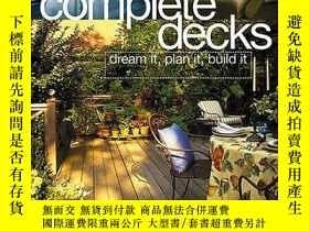 二手書博民逛書店Complete罕見Decks: Plan & Build Yo