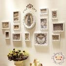 相框照片牆歐式實木相框牆客廳臥室背景相片...