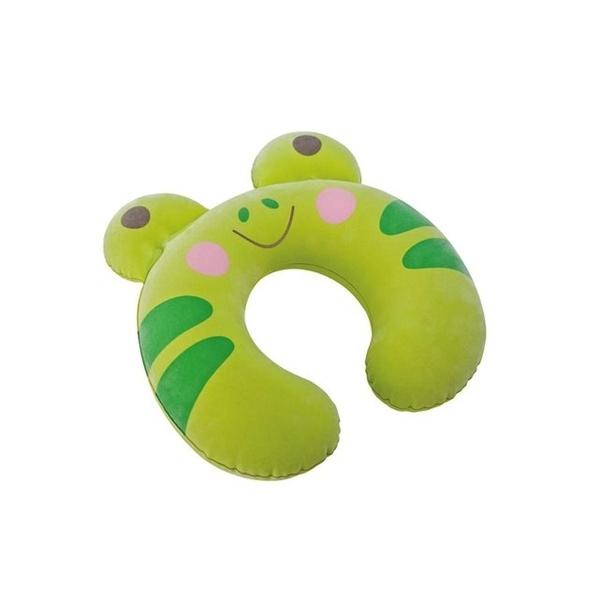 [衣林時尚] INTEX 兒童充氣護頸枕(青蛙/貓咪 隨機出)  28CM X 30CM X 8CM 可清洗   68678