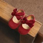 0-1一3歲春季單鞋子女童皮鞋嬰兒公主鞋小童女寶寶軟底學步鞋兒童